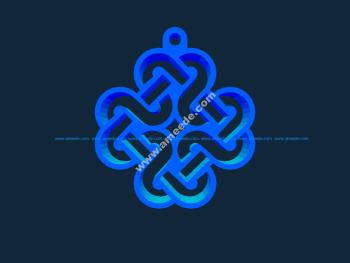 Mabinogi Celtic Emblem Key Chain stl file