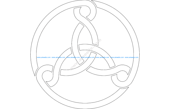 Three Celtic Knots