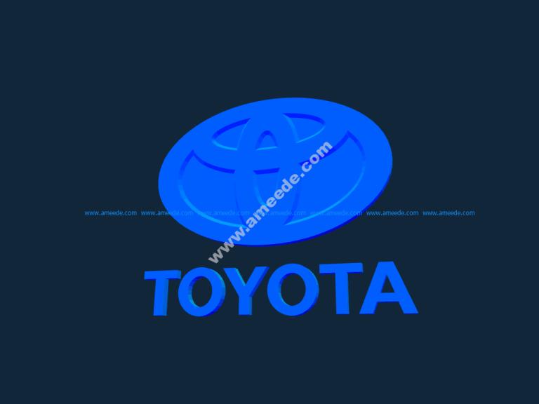 Toyota Logo stl