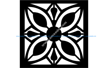 Floral Grille Pattern