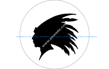 Indian Head Outline