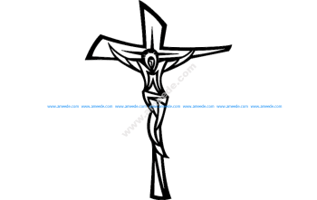 Jesus Cross Modern