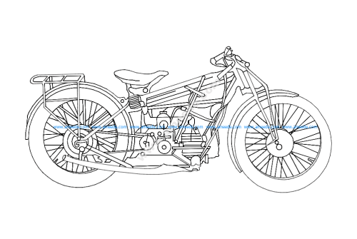 Motorcycle old