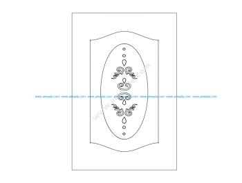 Pattern design doors