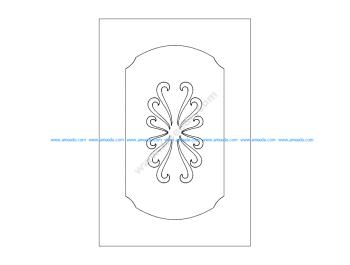 Pattern room divider