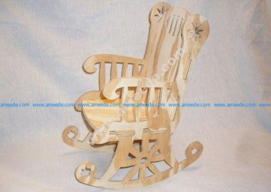 Rocking Chair Cnc Project 1-8 Inch Bit