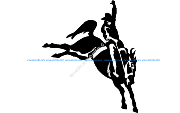 Rodeo Silhouette 4