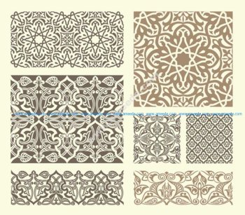 Scrollwork Islamic Pattern Collection