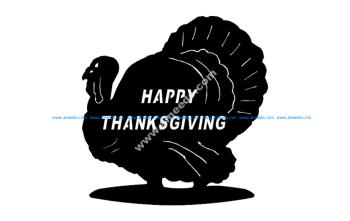 Turkey Happy Thanksgiving