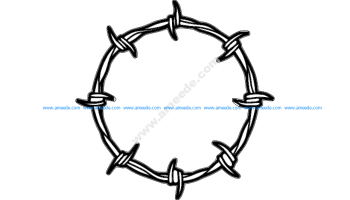 Wire Frame Round Design