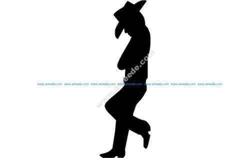 Cowboy Standing