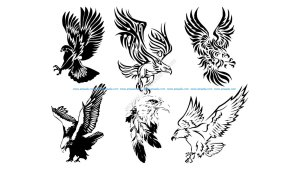 Awesome Tribal Eagle Tattoos