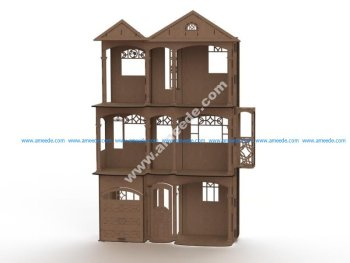 Barbie's house Lasercut