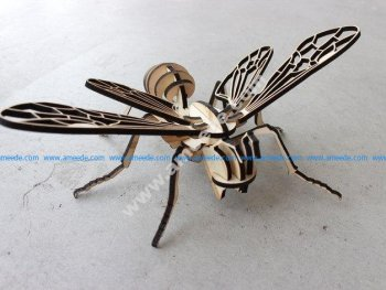 Bee 3D Puzzle