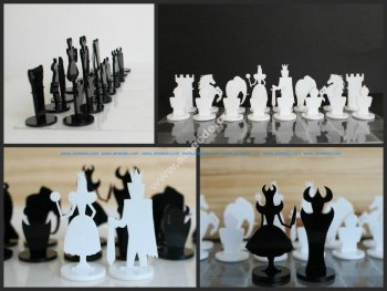 CNC Chess Set Plans