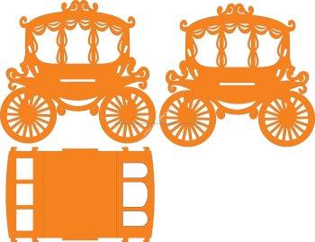 Carriage lasercut