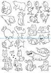 Cartoon Animals vectors
