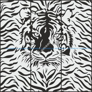 Cheetah Sandblasting pattern