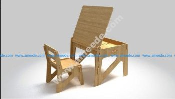 Child Chair Cutting 02