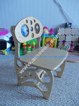 Children Chair DIY 3D Puzzle