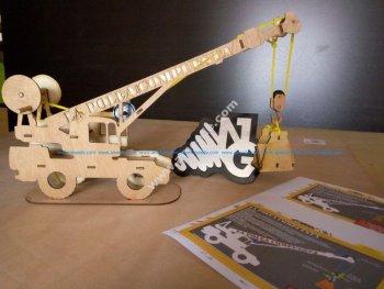 Crane 3D Puzzle