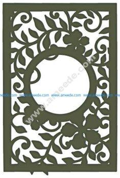 Decorative Leafy Frame