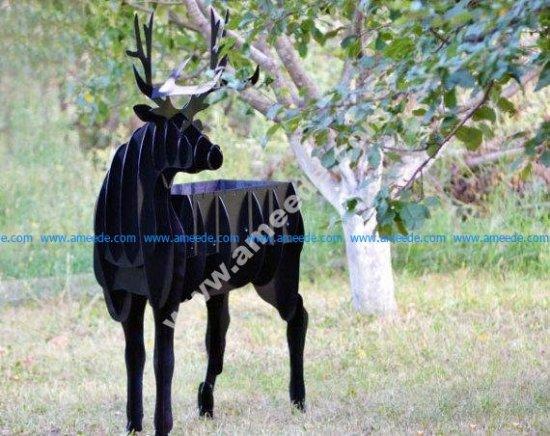 Deer BBQ cnc plan