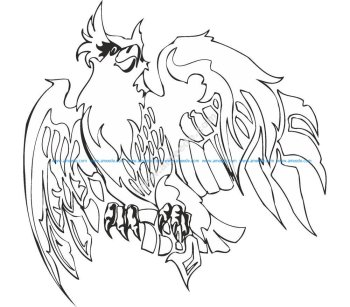 Eagle Illustrations Vector