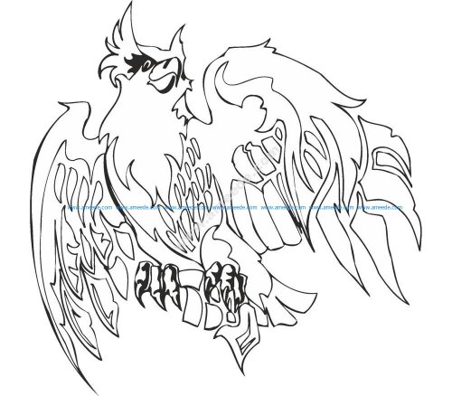 Eagle Illustrations Vector