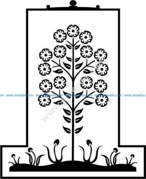 Flower Plant EPS
