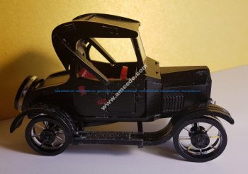Ford-T 3D Puzzle