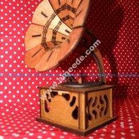 Grammofon 3d Puzzle Vector