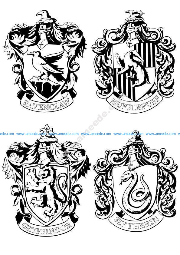 Harry Potter Vector Art