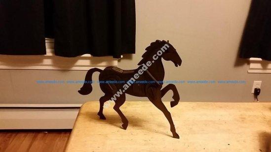 Horse 3D Puzzle 2mm