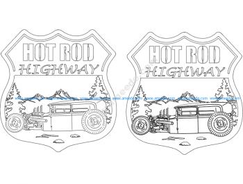 Hot Rod Highway Signs 3