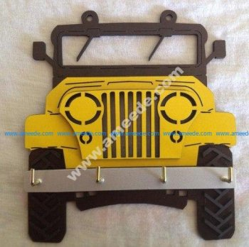 Jeep Key Holder