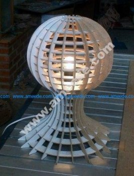 Lamp With Globe Detail
