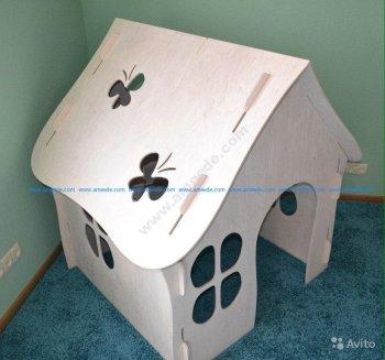 Laser Cut House 3D Puzzle