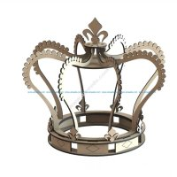 Laser Cut Royal Crown