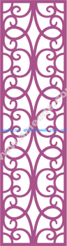 Laser Cut Vector Panel Seamless 173