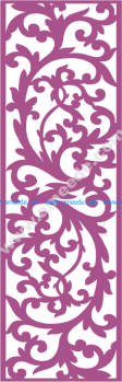 Laser Cut Vector Panel Seamless 176