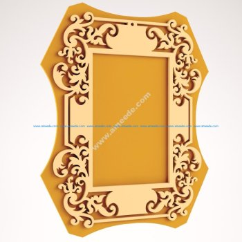Laser Cut Wood Frame Laser Cut Wood Frame