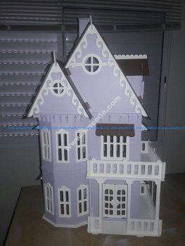 Lasercut Wooden House
