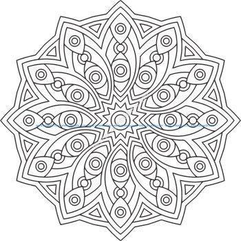 Mandala Des Geometrical