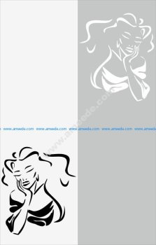 Miss Beauty Sandblast Pattern