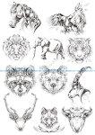 Original Animals Vectors