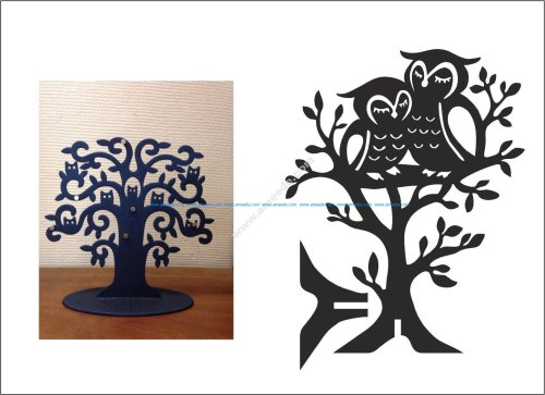 Owl Jewellery Tree – Hanger