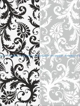 Sandblast Pattern Floral