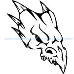 Skull 018