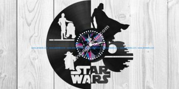 Star Wars Clock Plans Darth Vader Yoda